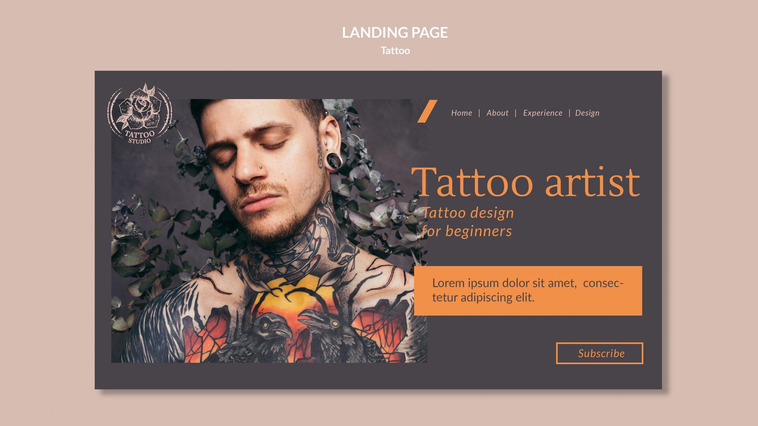 Thiết kế website cho tiệm xăm đẹp- giá cả tốt nhất