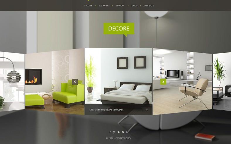 Website nội thất làm nổi bật giá trị doanh nghiệp