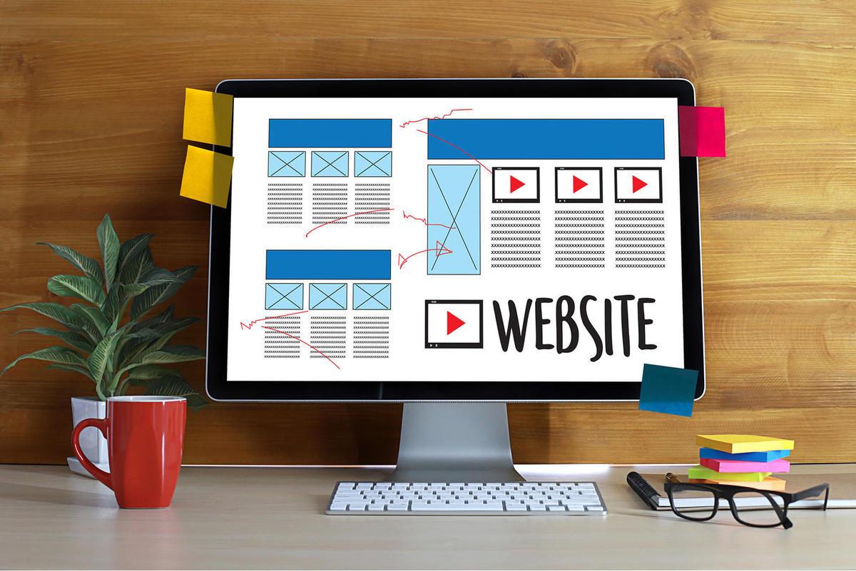 Giao diện của một Website được thiết kế chuyên nghiệp