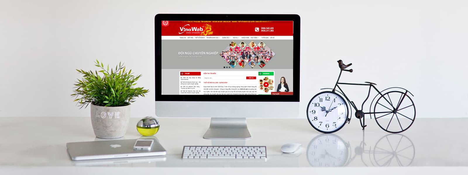 Thiết kế website chuyên nghiệp, chất lượng, giá tốt